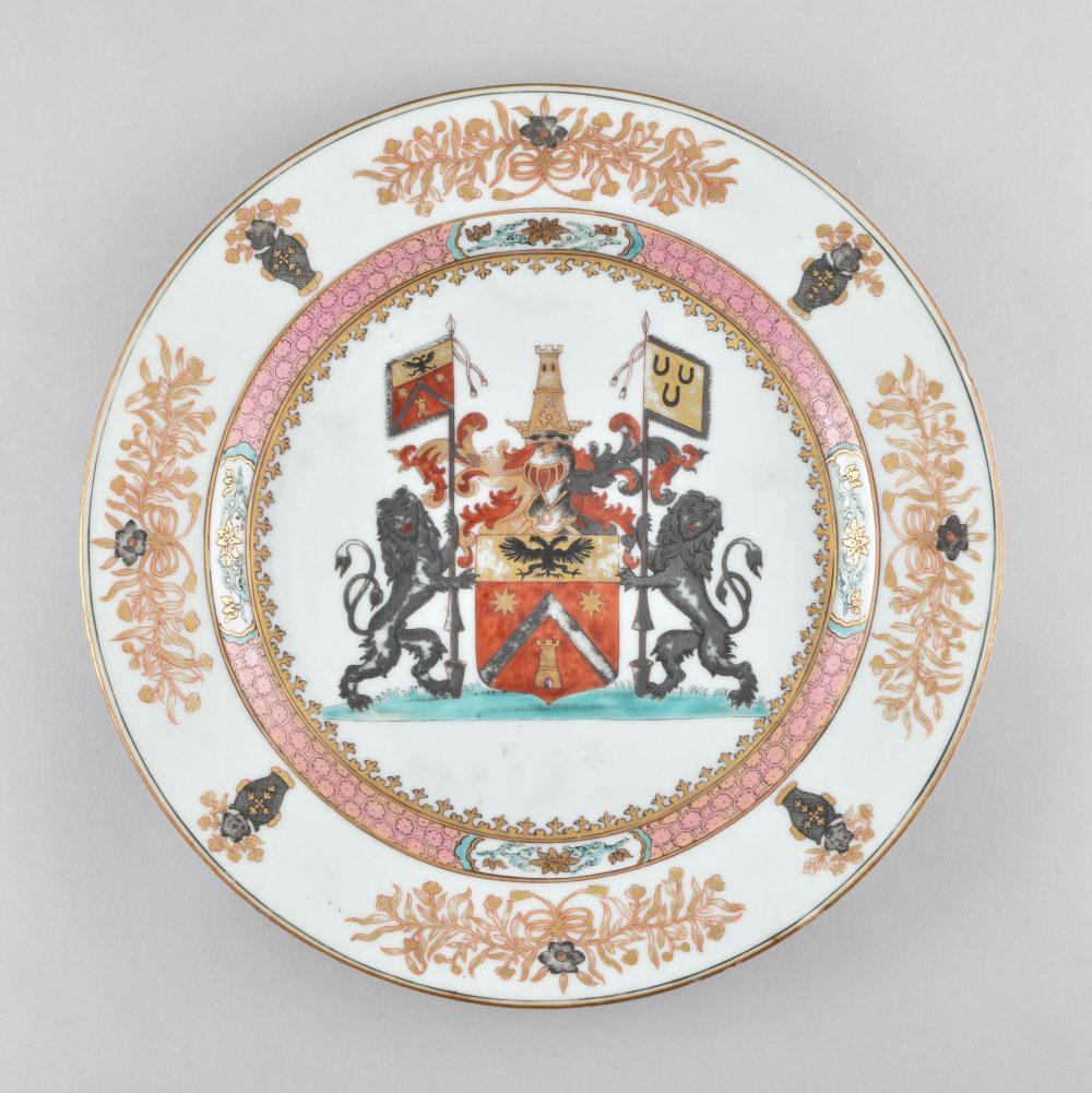 Famille rose Porcelain Yongzheng (1723-1735), ca. 1734, China