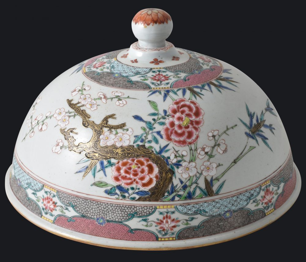 Famille rose Porcelain Yongzheng (1723-1735) / Qianlong period (1736-1795), ca. 1730/1745, China