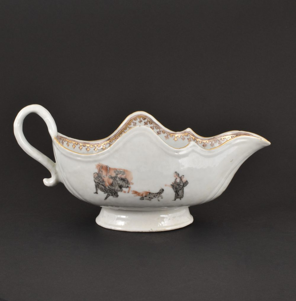 Porcelain Qianlong (1735-1795), circa 1750, China