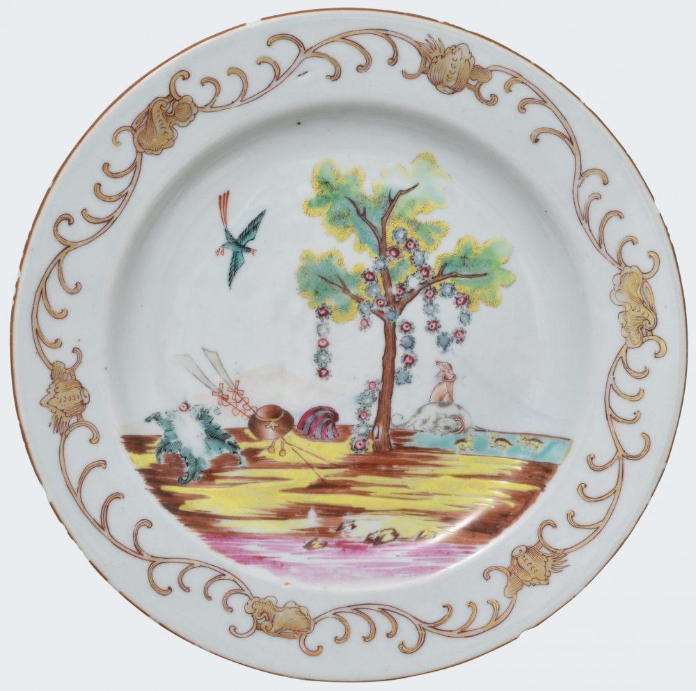 Famille rose Porcelain Qianlong (1735-1795), ca. 1750, China