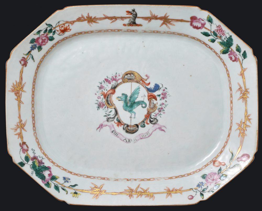 Porcelain Qianlong (1735-1795), circa 1770, China