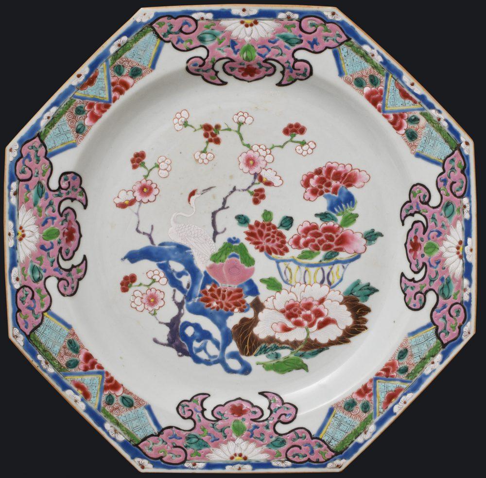 Famille rose Porcelain Yongzheng (1723-1735) / Qianlong (1736-1795), ca. 1730/40, China