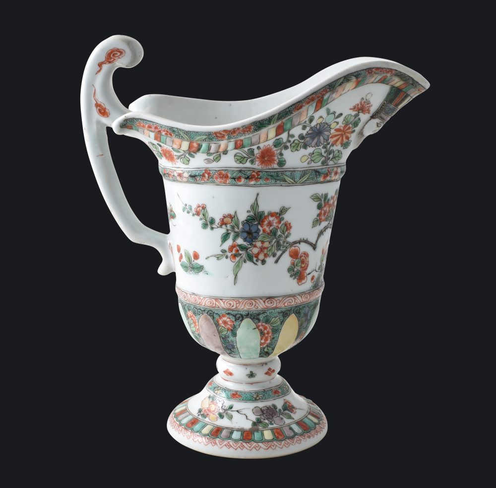 Famille verte Porcelain Kangxi (1662-1722), China (for the French market)