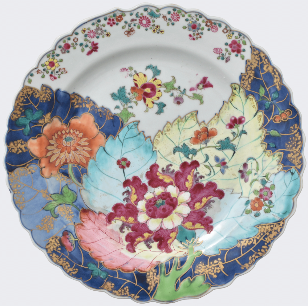 Famille rose Porcelain Qianlong (1735-1795), circa 1770, China