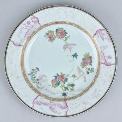 Famille rose Porcelain Yongzheng (1723-1735), ca. 1730-1740, China