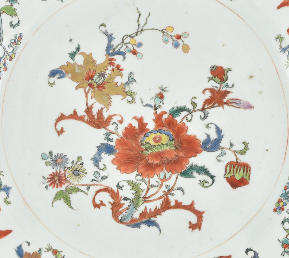 Famille rose Porcelaine Qianlong (1735-1795), ca. 1745, China