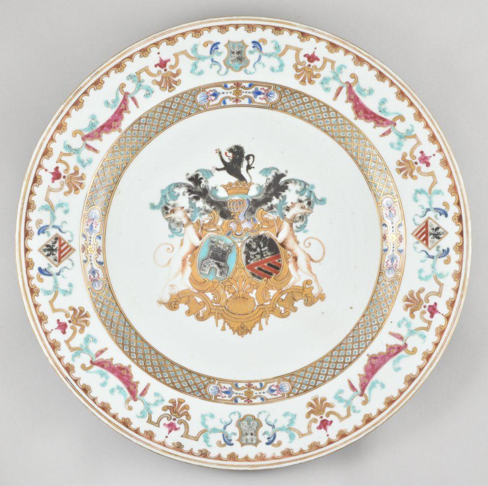 Famille rose Porcelain Yongzheng (1723-1735), ca. 1735, China