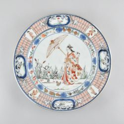 Porcelain Edo period (1603-1868), first half of 18th century , Japan (Arita)