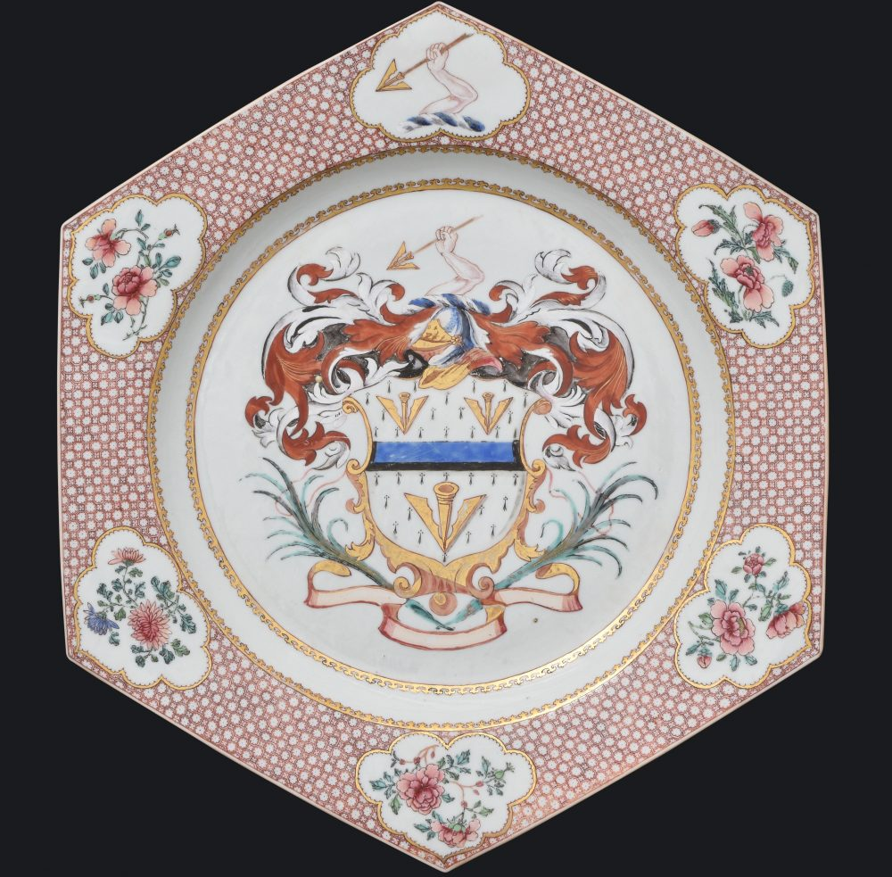 Porcelain Yongzheng period (1723-1735), ca. 1735, China