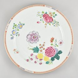 Famille rose Porcelain Qianlong (1735-1795), ca. 1760/70, China