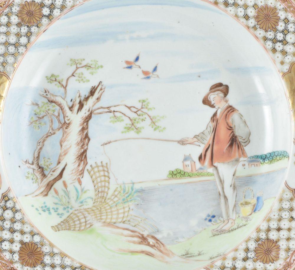 Porcelain Qianlong (1735-1795), circa 1740, China