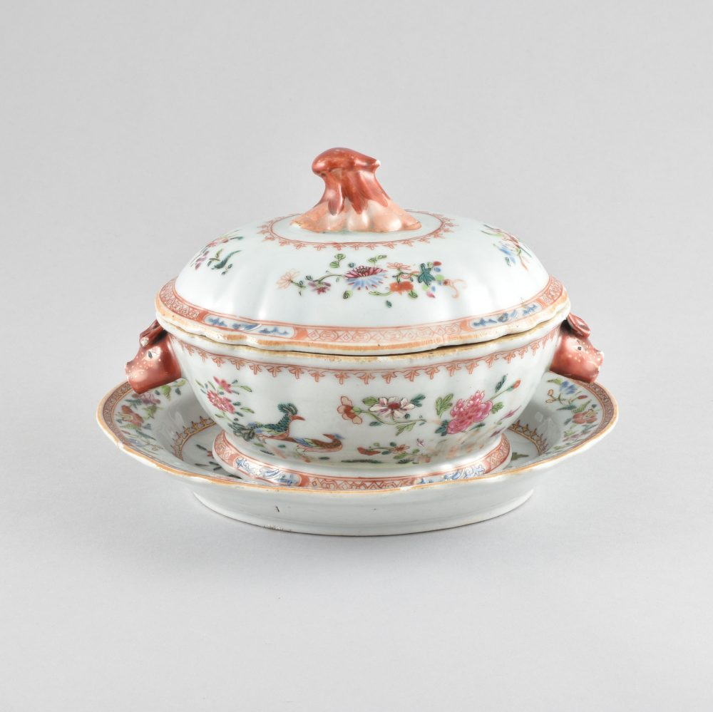 Famille rose Porcelain Qianlong (1735-1795), Chine