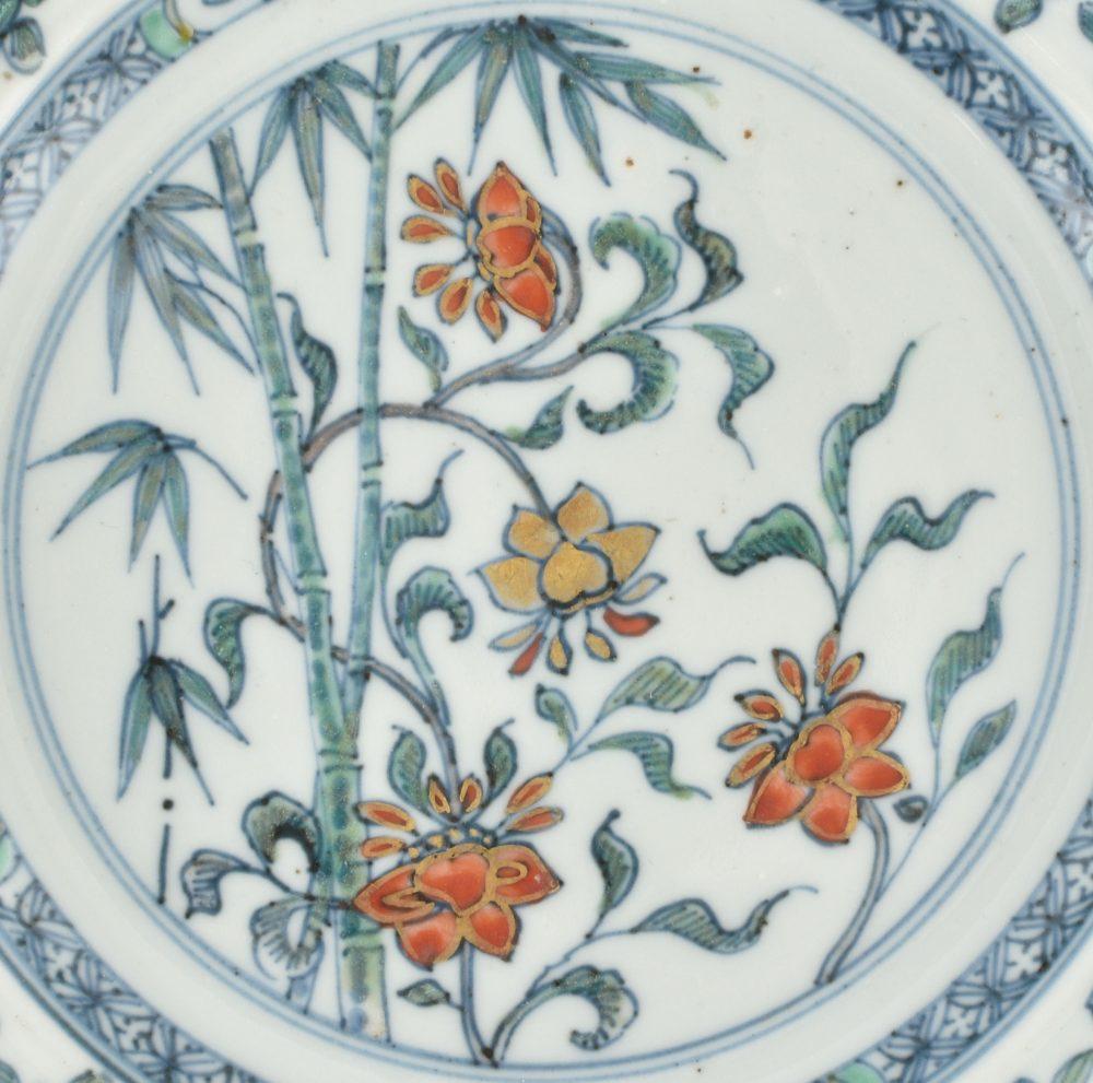 Porcelain Kangxi (1662-1722) or Yongzheng (1723-1735), China