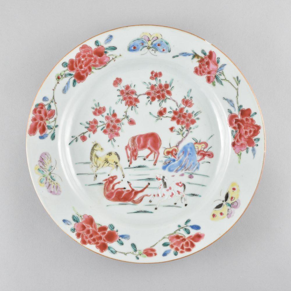 Famille rose Porcelain Yongzheng (1723-1735) / Qianlong (1736-1795), ca. 1730/1740, China