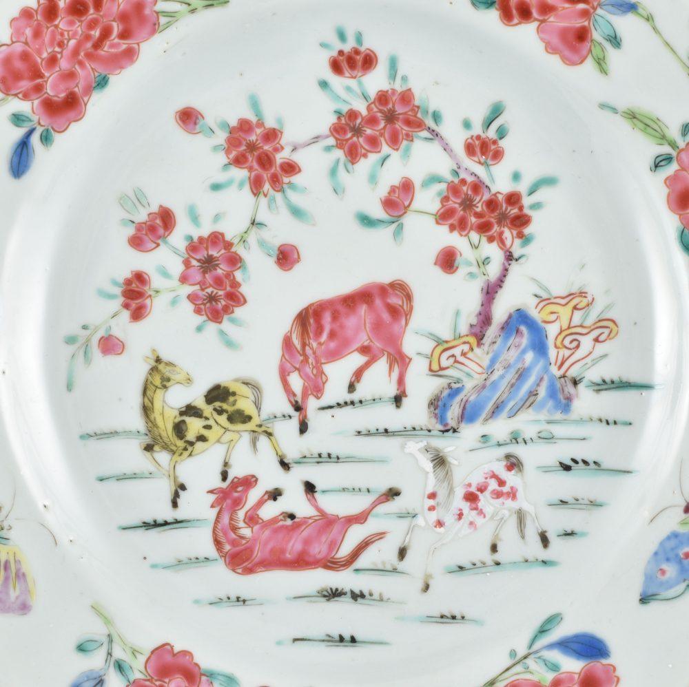 Famille rose Porcelain Yongzheng (1723-1735), ca. 1730/1740, China