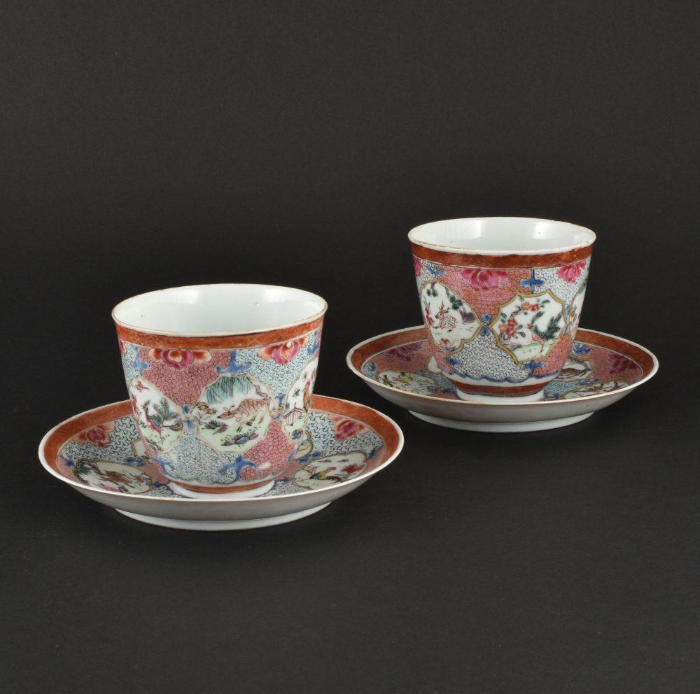 Famille rose Porcelain Yongzheng (1723-1735) ca. 1735, China