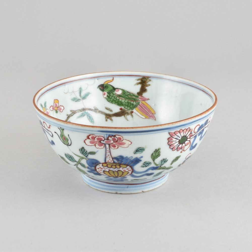 Porcelain The porcelain Kangxi period (1662-1722) ; the decoration made in London ca. 1740/1750, China
