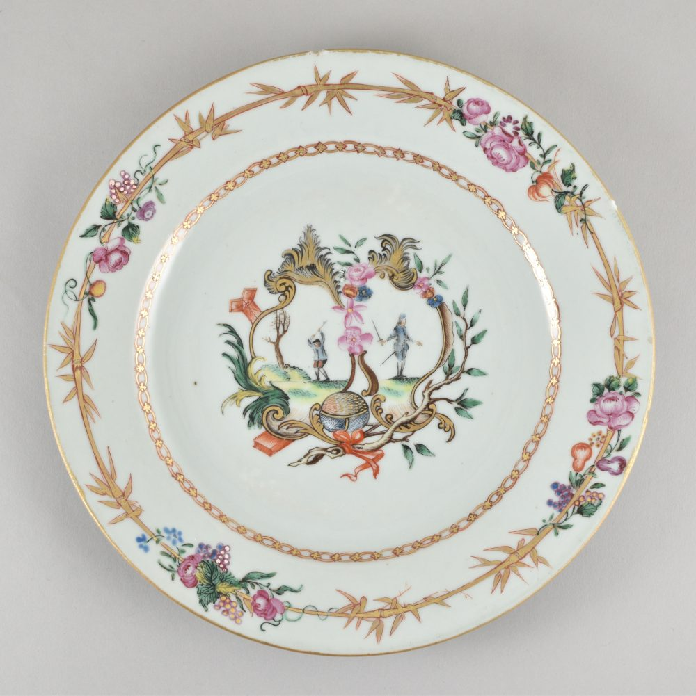 Famille rose Porcelain Qianlong (1735-1795), ca. 1775, China (for the Spanish market)