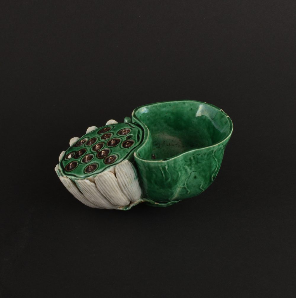 Famille verte Porcelain (biscuit) Kangxi (1662-1722), ca. 1690/1710, China