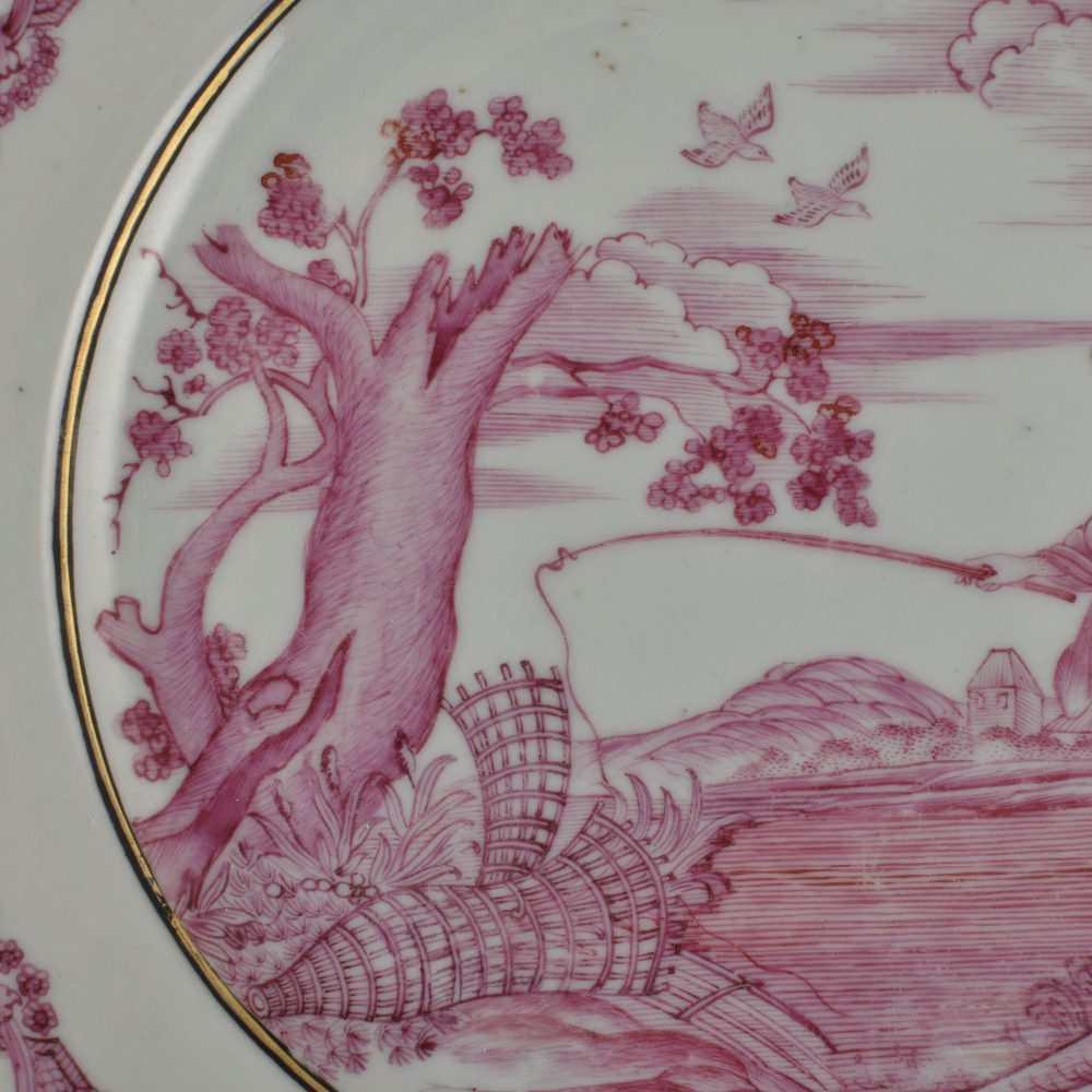 Porcelain Qianlong (1736-1795), ca. 1740-1750, China