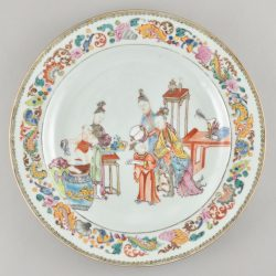 Famille rose Porcelain Qianlong period (1736-1795), circa 1750/1760, China