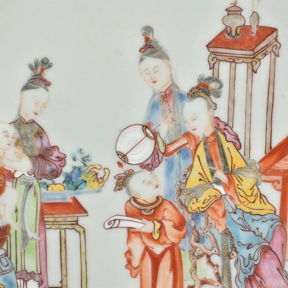 Famille rose Porcelain Qianlong period (1736-1795), circa 1750/1760, China