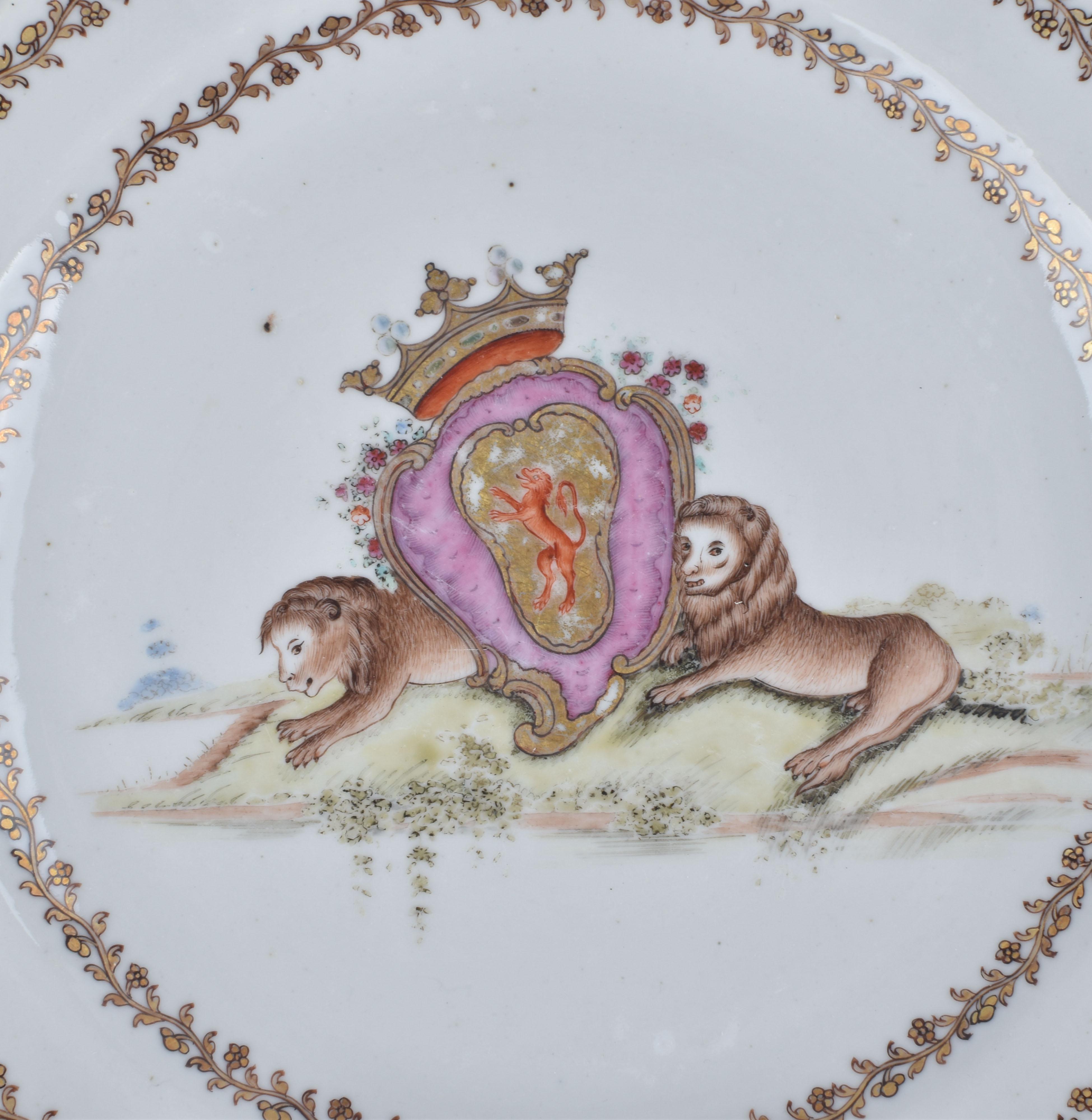 Porcelain Qianlong (1735-1795), ca. 1760, China