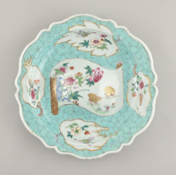 Porcelain Qianlong (1735-1795), circa 1740/1750, China