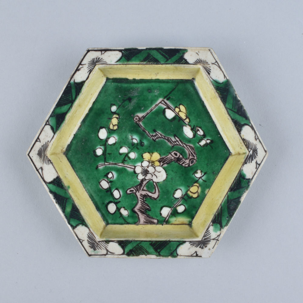 Famille verte Porcelaine (biscuit) Kangxi (1662-1722), China