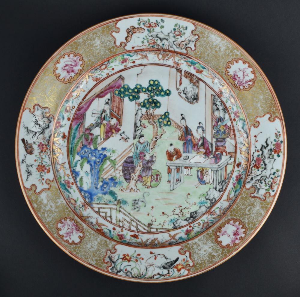 Famille rose Porcelain Qianlong (1736-1795), circa 1760, China