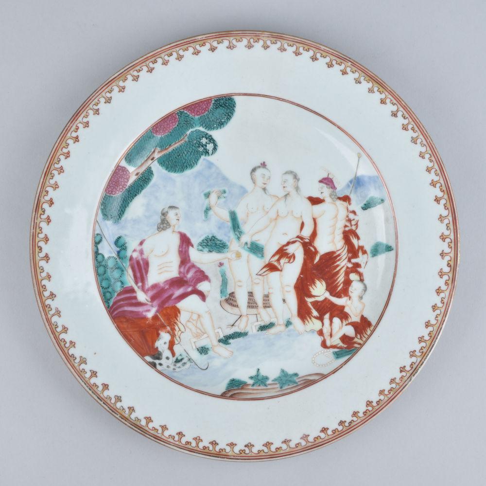 Porcelain Qianlong (1735-1795), circa 1750/1760, China